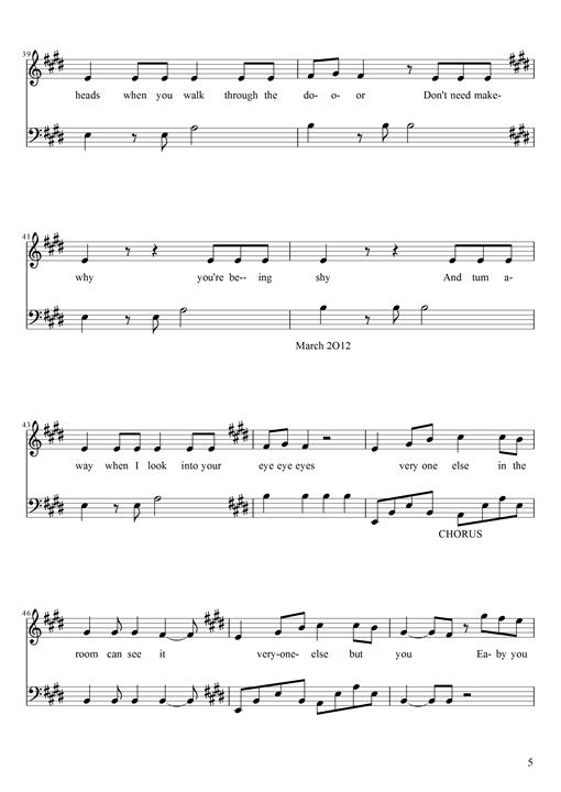 one direction piano sheet music pdf